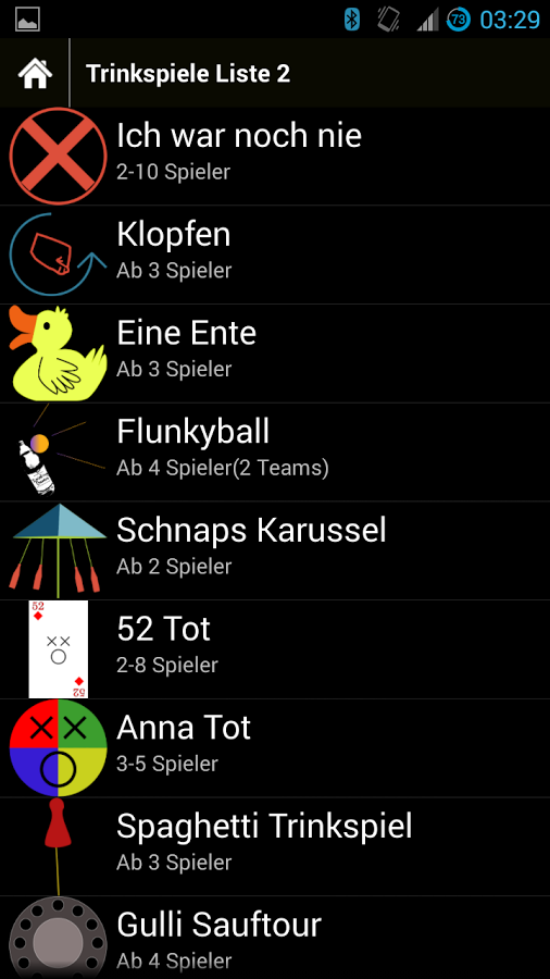 trinkspiele app. Black Bedroom Furniture Sets. Home Design Ideas